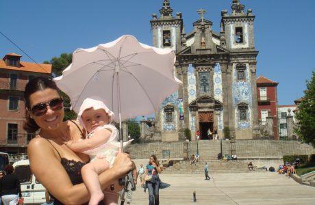 Viajar con bebés a Oporto. Portugal en familia Oporto