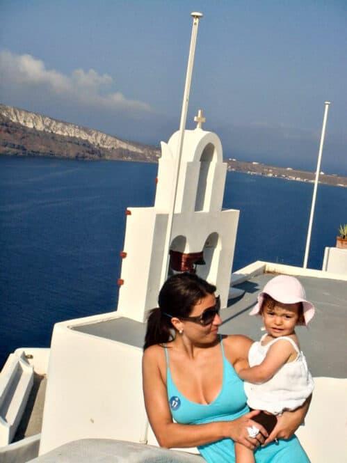 Santorini en Grecia