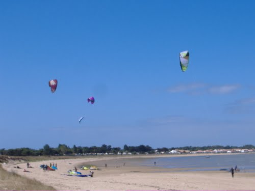 Kite surfing Rivedoux Plage, Ile de Re