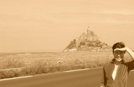Buscando a Rapunzel en Mont Saint Michel Normandía