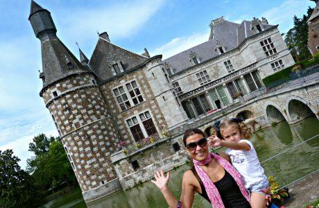 Un día entre Castillos y Jardines de Valonia con los niños. Valonia