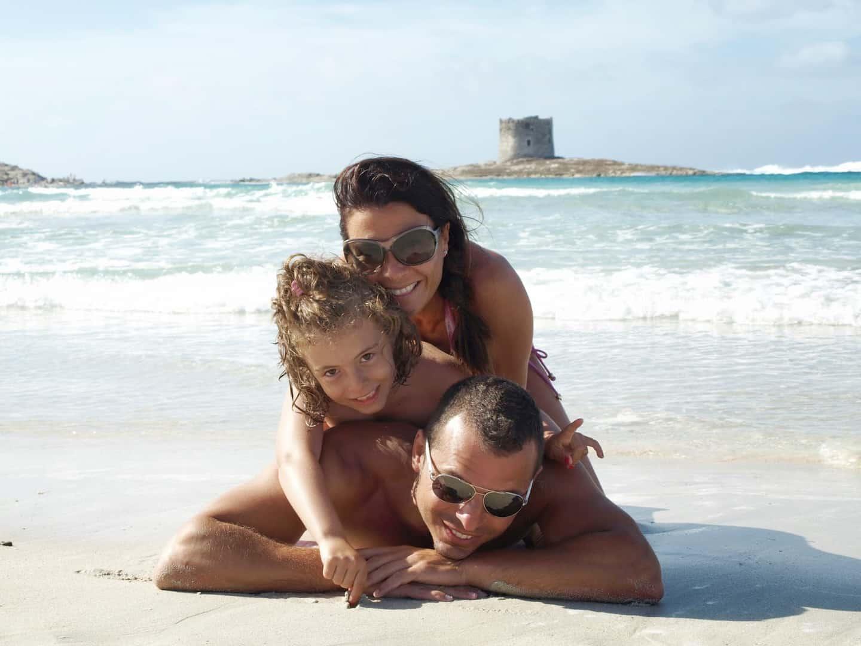 La Pelosa, espectacular playa de la Isla de Cerdeña. Cerdeña