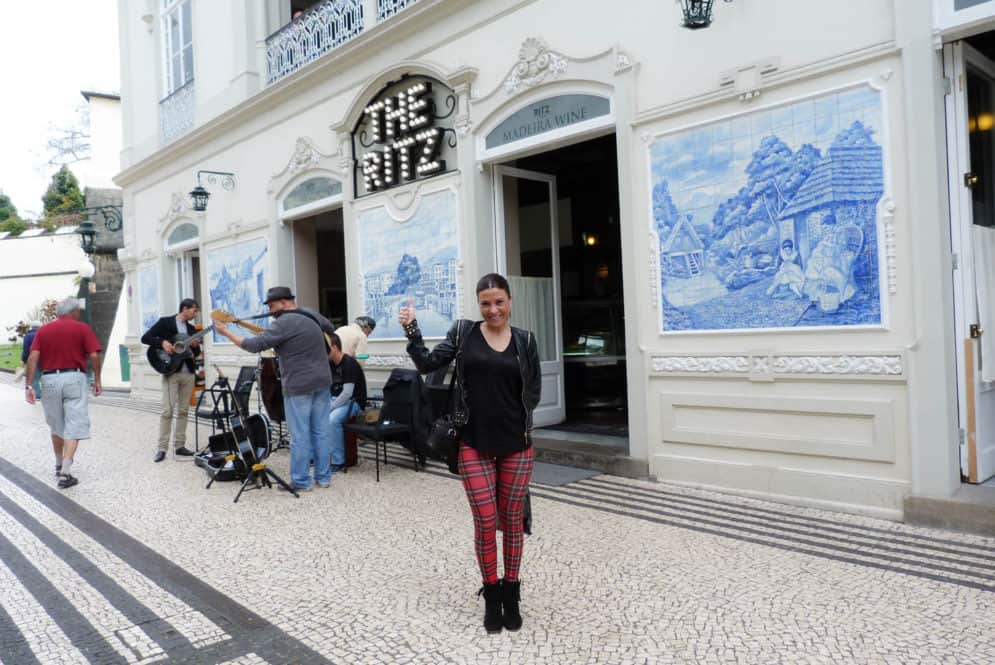 The Ritz en la isla de Funchal, Madeira