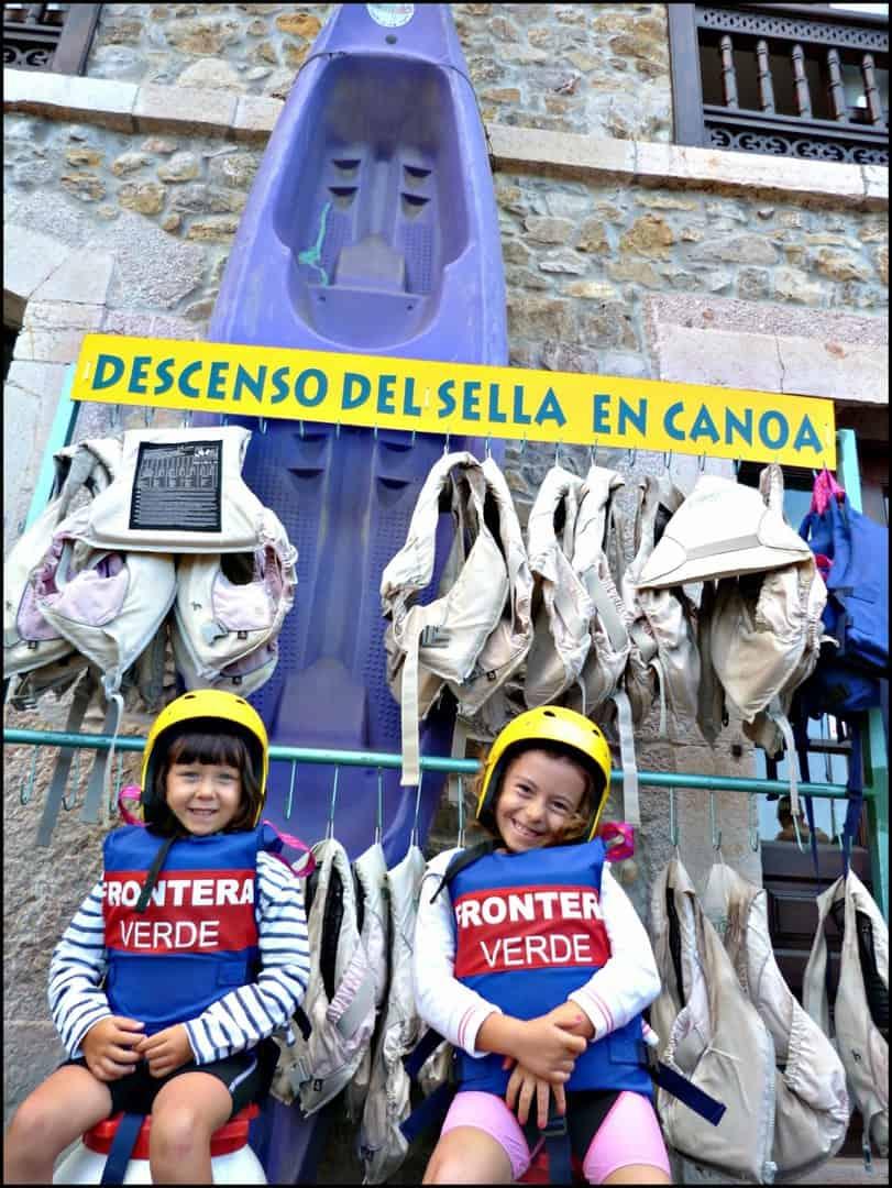 Ruta del Sella especial niños con Frontera Verde. Arriondas. Asturias. Asturias