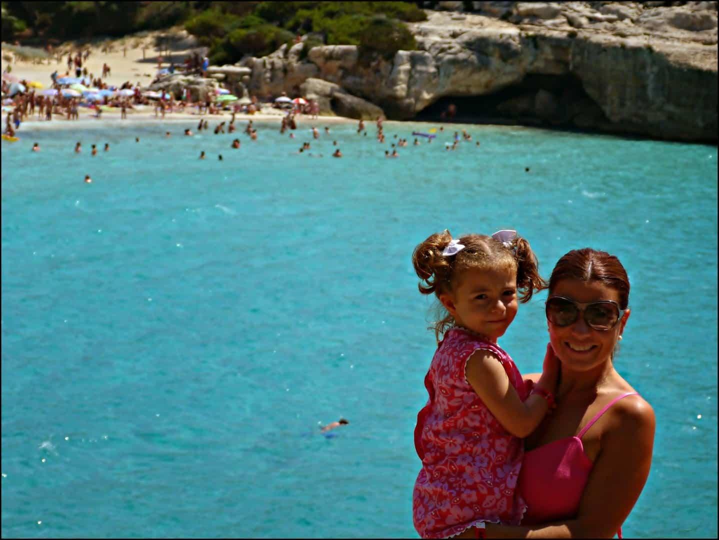 Viajar con niños a Menorca fue amor a primera vista. España