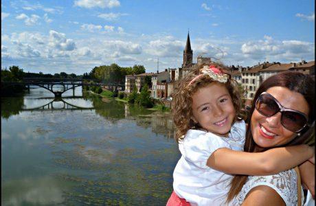 Montauban, bonita excursión cerca de Toulouse en Francia. Montauban