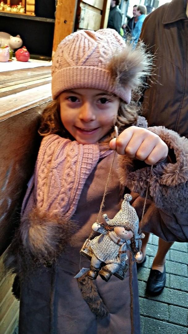 Mercado Navideño en Bruselas. Bélgica con niños Bélgica
