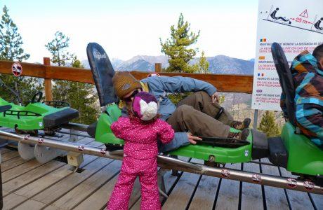 El tobogán más largo del Mundo. Andorra Andorra