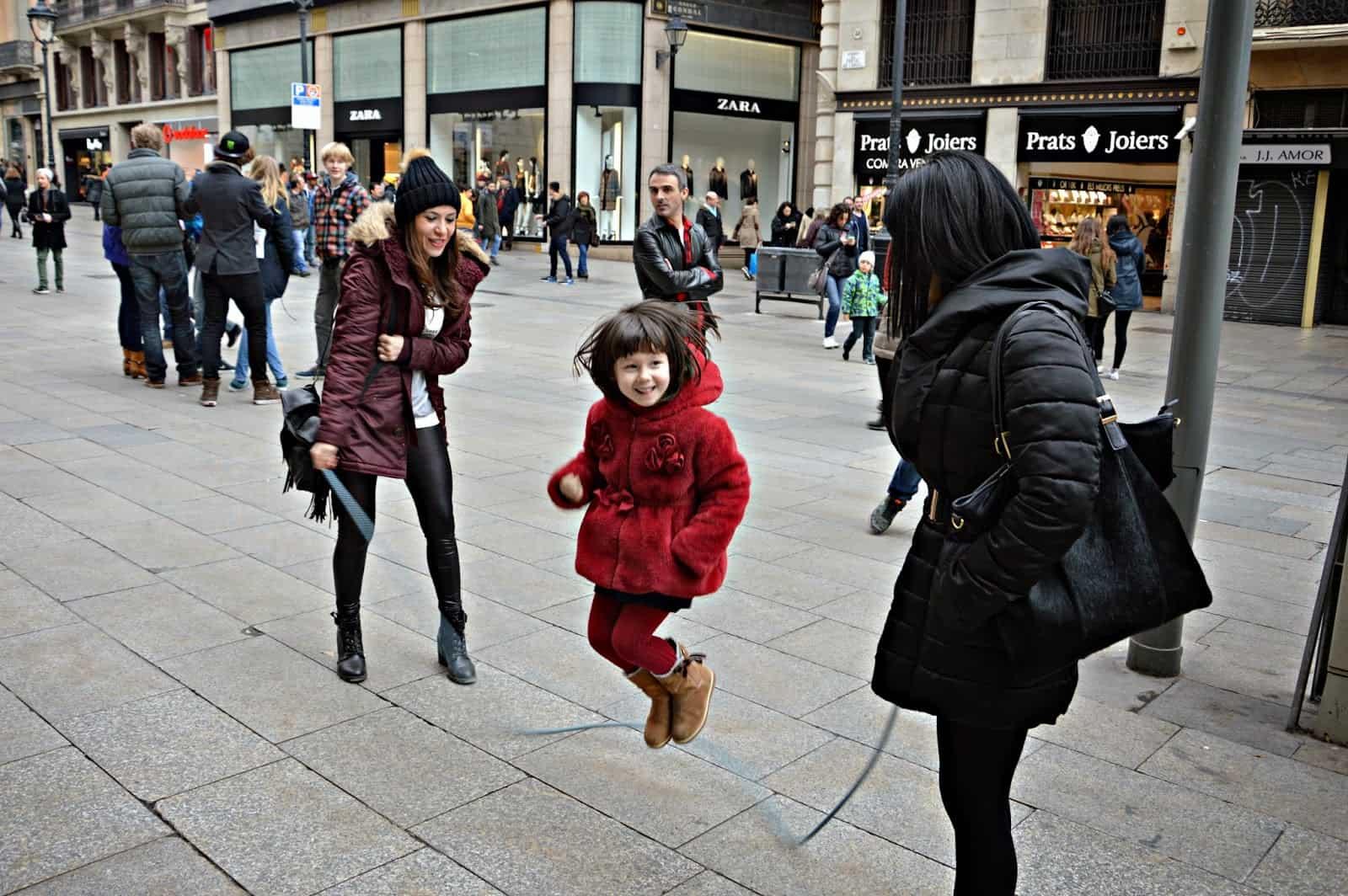 Fin de semana en Barcelona con la familia. Barcelona