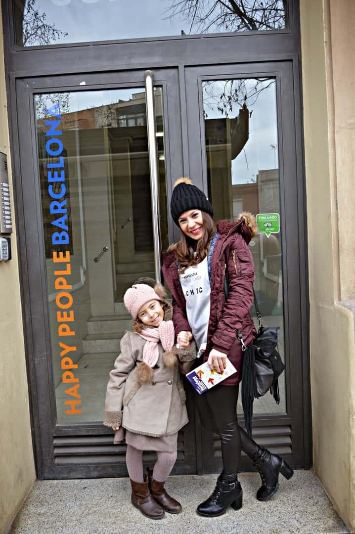 Un alojamiento muy familiar en Barcelona. Happy People Apartments; ideal para ir con niños Barcelona