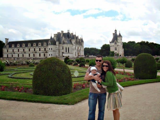 Castillos de Loira. Viajar a Francia con la familia Francia