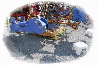 Disfrutando en los destinos de un enorme juguete: El Carrusel