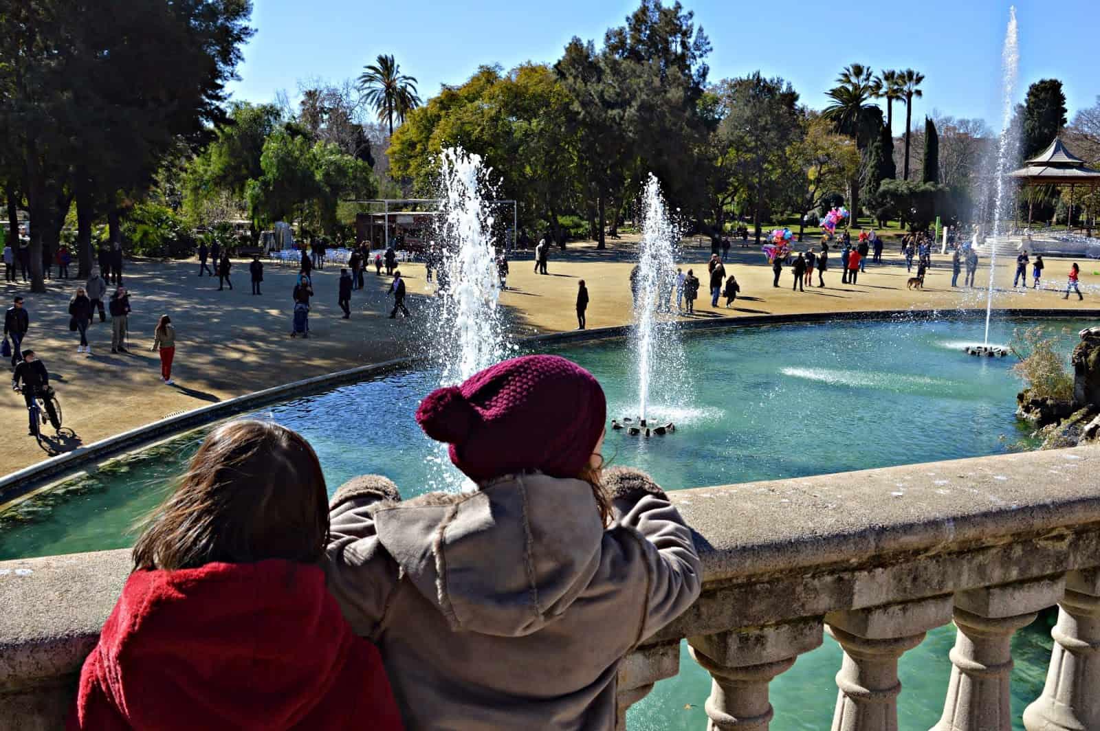 El Parque de la Ciutadella. Barcelona con niños. Barcelona