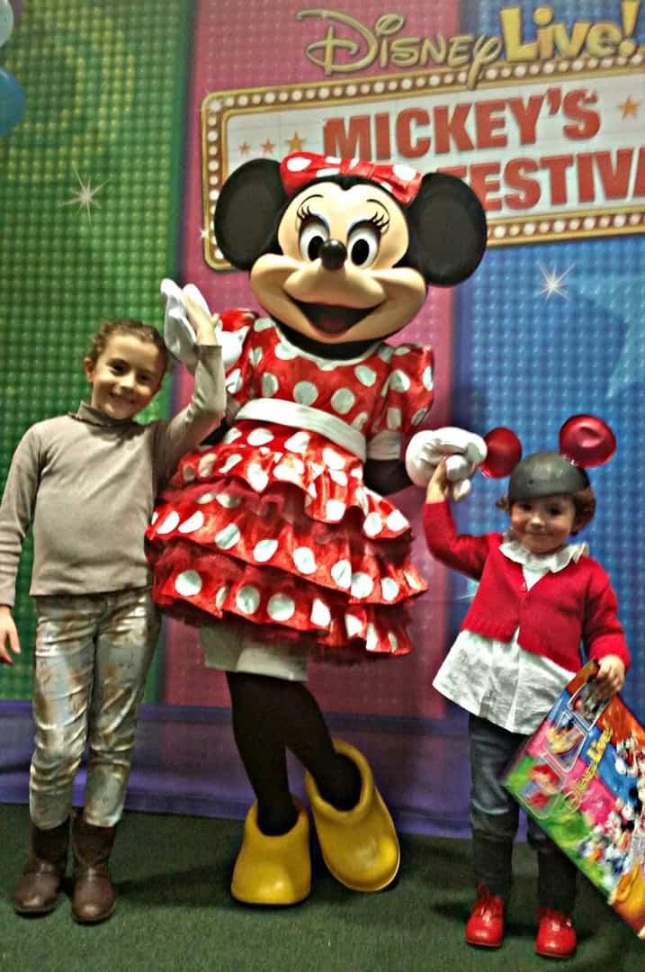 Compartiendo con mi hija un trozo de sueño Disney Live.
