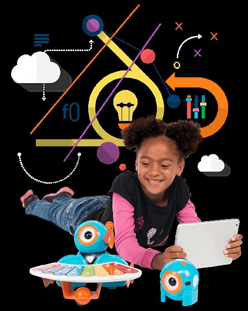 viaja con tu hijo al Camp Tecnológico, un mundo digital.