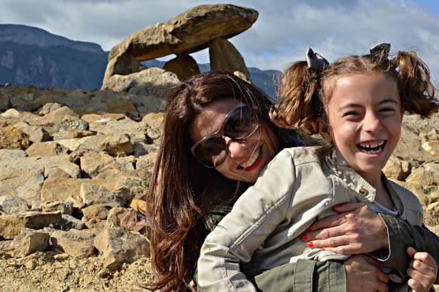 viaja con tu hijo a esta tierra de mágicos paisajes. Rioja Alavesa. España