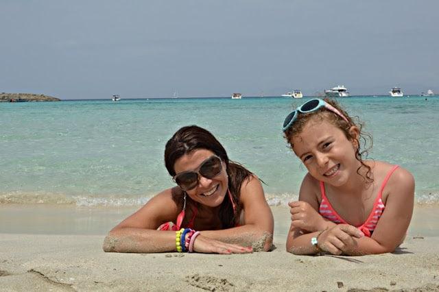 Playa de Illetas en Formentera