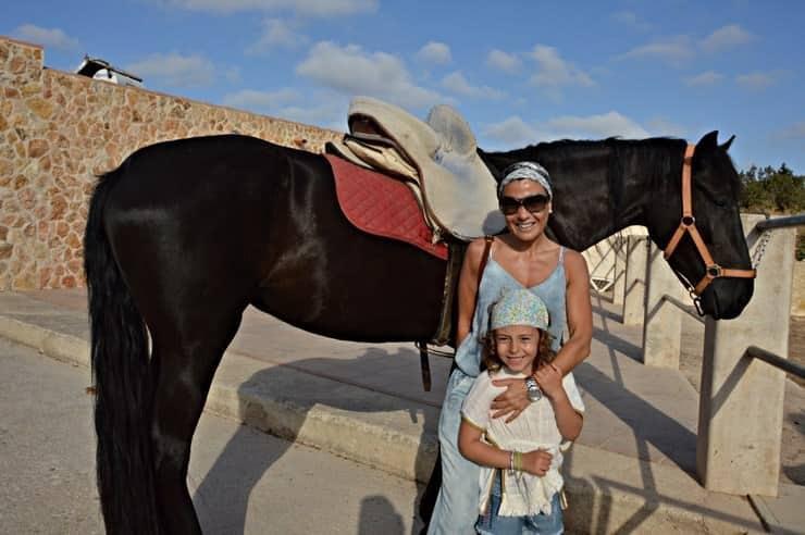 Montar a caballo en Formentera