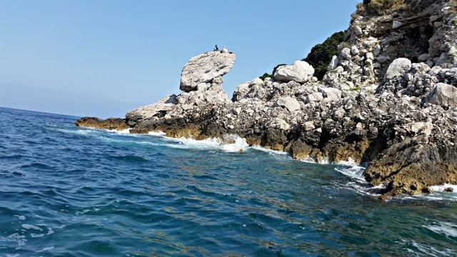 Unas vacaciones familiares en la Isla de Capri. Italia. Capri