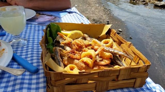 Rica gastronomía para la familia en la Costa de Amalfi; Italia Costa Amalfitana