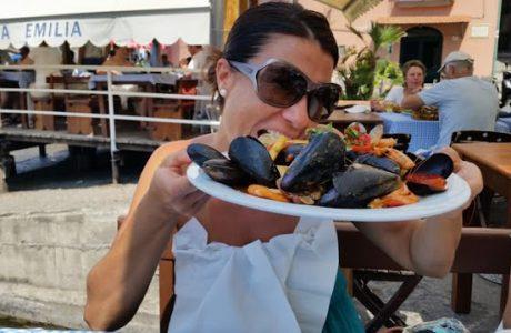 Rica gastronomía para la familia en la Costa de Amalfi; Italia Italia