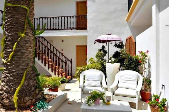 Hostal la Savina en Formentera
