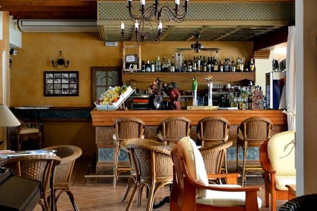 Bar Hostal la Savina en Formentera