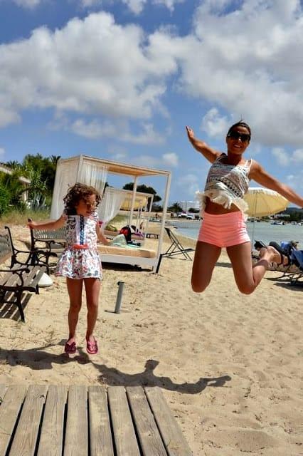 Jump desde la Playa del Hostal la Savina en Formentera