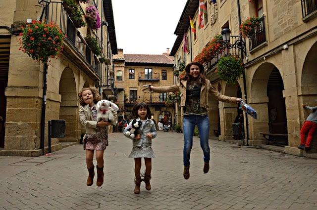Lo que podría haber sido un bonito día de Vendimia en Familia España