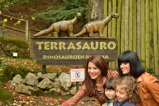 Karpin Abentura, un centro de acogida de animales silvestres. Bizkaia