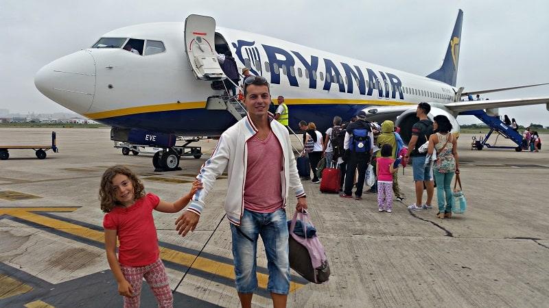 Ryanair-viajar-en-avión