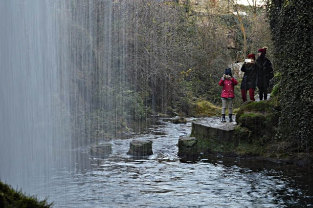 Planes con los niños entre Frías Cascadas Burgos