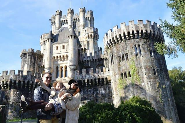 Existe un precioso castillo muy cerca de Bilbao. Bizkaia