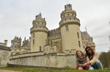 Viajar con niños al Castillo de Pierrefonds; muy cerca de París. castillo Pierrefonds