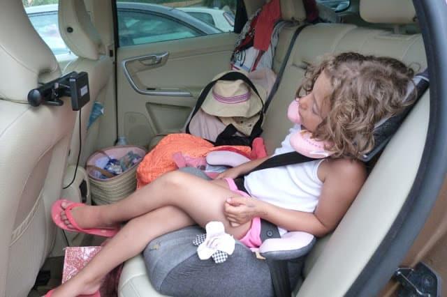 Entretener a los niños cuando viajas en coche. Ideas
