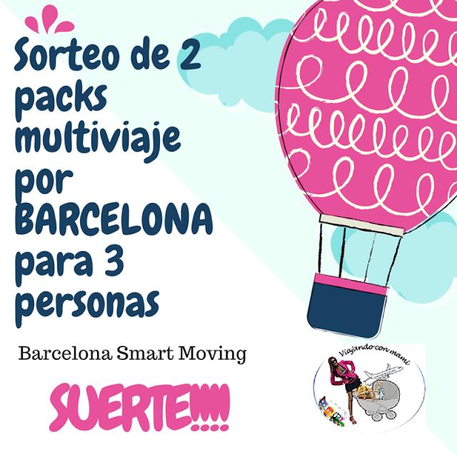 Visitar Barcelona con niños de una forma cómoda: SORTEO