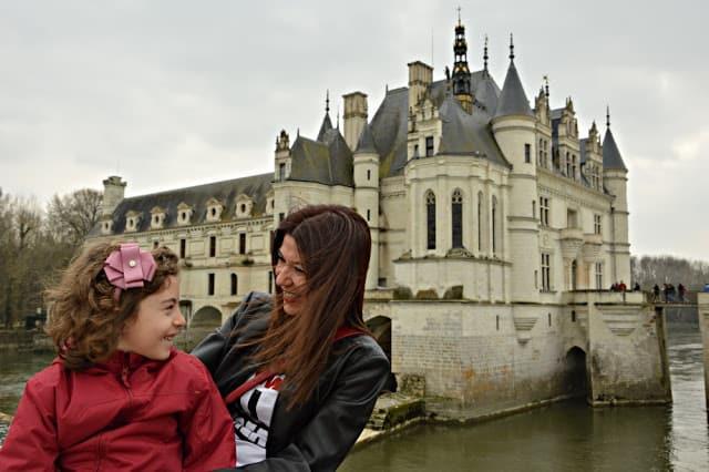 Castillos de Loira. Chenonceau con niños Francia