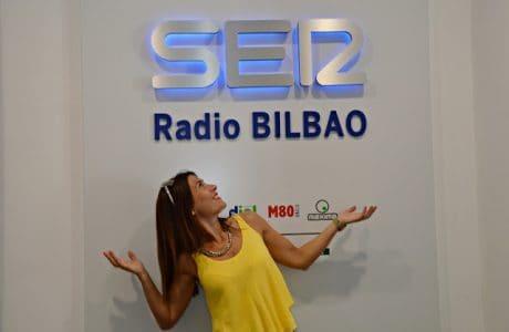 Mi debut como Colaboradora en Radio Ser Bilbao Prensa