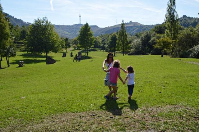 La Montaña con los niños, un plan perfecto. Bilbao