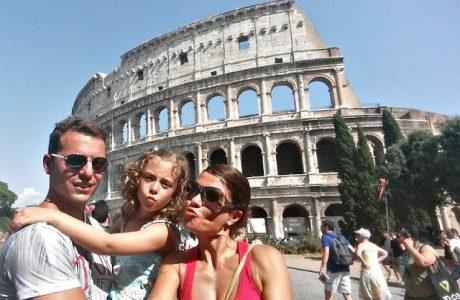 Viajar con niños a Roma; mi primer vídeo en Youtube Italia