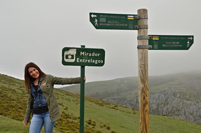 Mirador entrelagos Covadonga Asturias