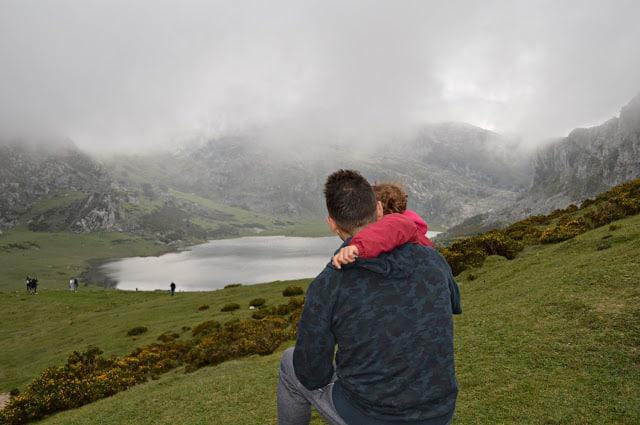 lago Ercina en Asturias