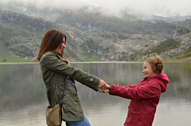 lago Enol en Asturias