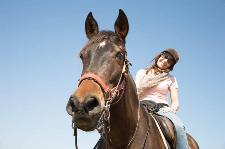 viajar-familia-vacaciones-niños-bebes-caballos-laredo