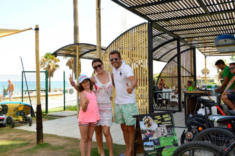 actividades con los niños con QQ Bikes  en Torremolinos