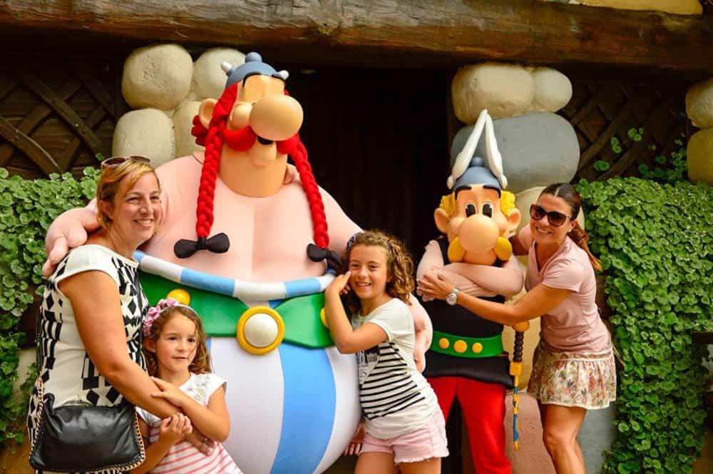 Parque de Asterix en París