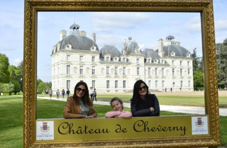 Castillo de Tintin. Cheverny en el Valle del Loira. Valle del Loira