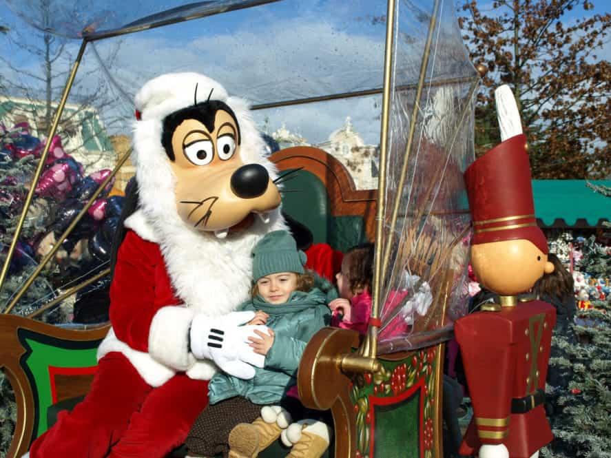 Disney en Navidad. París con niños. Europa
