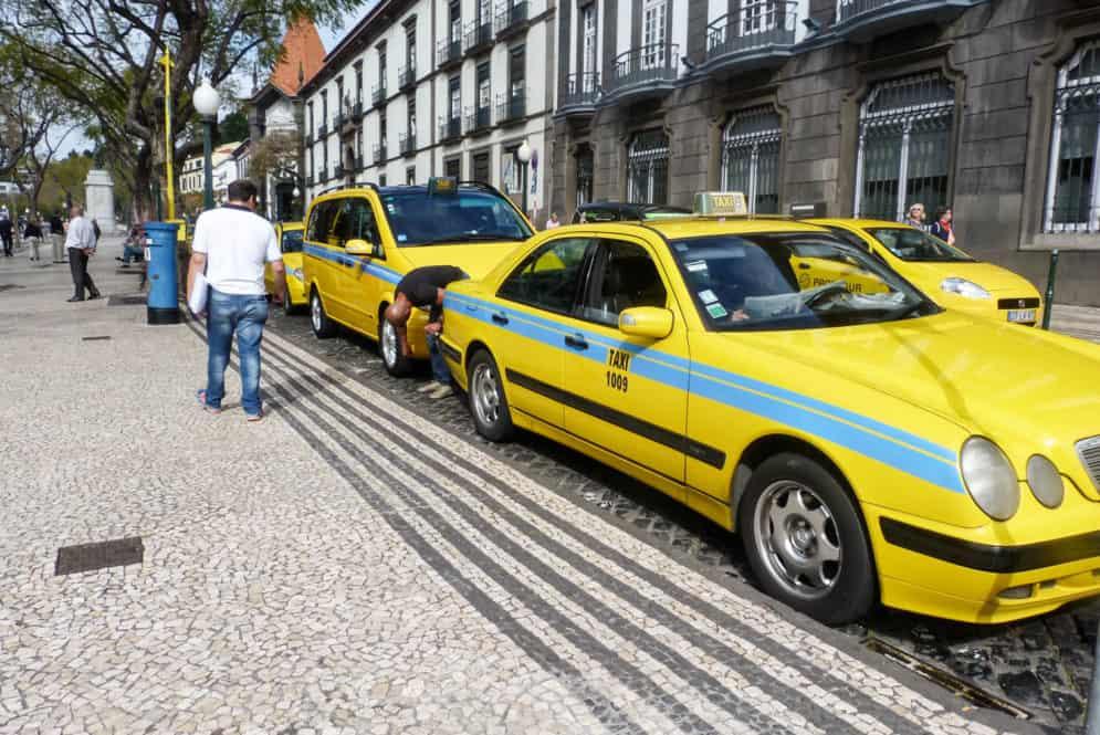 Por las calles de Funchal en Madeira