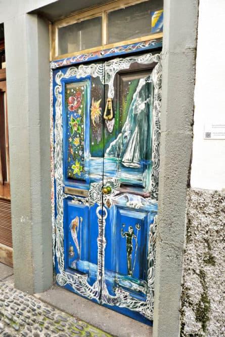 Puertas de la Zona Velha de Funchal en Madeira